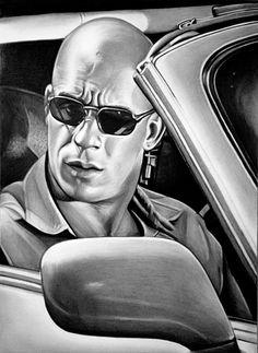Vin Diesel by Mariannaeva on DeviantArt