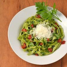 Homemade #Spinach #Pasta
