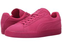 PUMA The Suede Emboss Iced Beetroot Purple - 6pm.com
