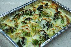 Broccoli gratinat Quiche, Broccoli, Cauliflower, Vegetables, Facial Yoga, Breakfast, Foods, Morning Coffee, Food Food
