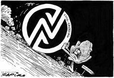 Zapiro - The Effect of Eskom's Load-shedding and the South African Economy published in The Times on 6 Feb 2015