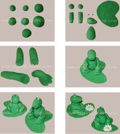 explications pas pas pour modeler un dinosaure en p te sucre pour poser sur vos g teaux. Black Bedroom Furniture Sets. Home Design Ideas