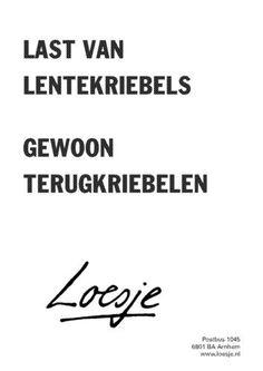 Gewoon terugkriebelen! ;-) #WeightWatchers #Loesje