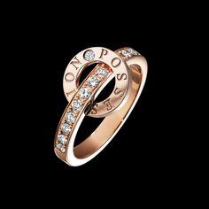 Rose gold Diamond Ring G34PV600 - Piaget Luxury Jewelry Online