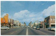 Van Nuys Blvd - Heart of Van Nuys business district circa 1950's