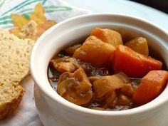 Recipe:  Vegetarian Guinness Stew