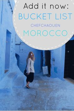 Chefchaouen was by far my favorite place in Morocco! This all blue town is a photographer's dream and you can wander here for hours and just be in awe the whole time. It's a little out-of-the-way making it less touristy than other spots in Morocco but it's worth a visit. Maybe you don't know that half the worlds' hash comes from here as well as some of the coolest rugs. You're about to! Here are my very best Chefchaouen travel tips.