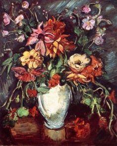 Vase of Flowers - Achille Emile-Othon Friesz - The Athenaeum