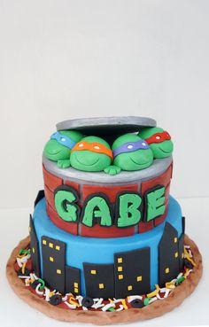 The Welch Cupcakery: Teenage Mutant Ninja Turtles Cake