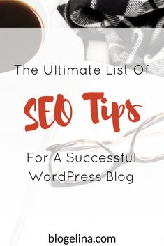 Are you a blogger or infopreneur who wants to increase the traffic to your blog? Having solid SEO on your blog is one great way to do this! This post shares SEO tips for your blog! Click through to read the entire post.