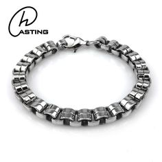 High Quality Best Wholesale Fashion Mens Luxury Accessories Bracelet Metal