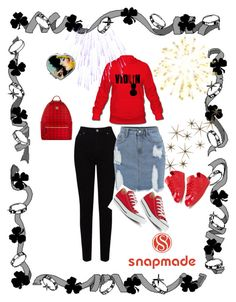 """""""snapmade 19"""" by fatimazbanic ❤ liked on Polyvore featuring Global Views, EAST, adidas Originals, Converse and MCM"""