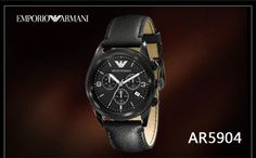 Giorgio Armani AR5904 Men Wrist Watch+Original Box