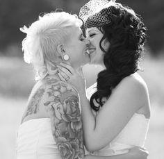 Vegan Lesbian Brides - #LGBT