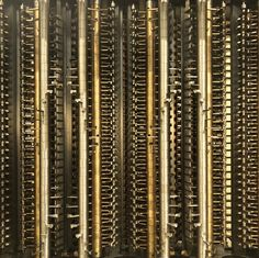 The inside of a mechanical calculator... - - #calculator #mathmatics #engineering #metalwork #history #charlesbabbage #science #math #clever #engineer #trees #sunset #machine #industrial #antique #instapic #mechanical #mechanicalart #art #pic #human #machinery #casio #sums #artofvisuals #architecture #instagood #bnw #blackandwhite