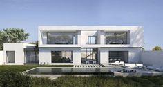 Grande maison d'architecte contemporaine