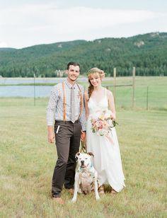 Cute little Bull Dog // Bright Colorado Wedding Dog Wedding, Wedding Shoot, Dream Wedding, Wedding Photography Styles, Woman Photography, Cheap Wedding Decorations, Photo Instagram, Budget Wedding, Wedding Portraits