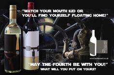 May the 4th fun ;0) www.bottlecard.co.uk