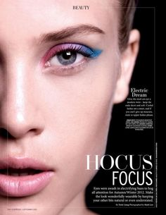 Hocus Focus - L'Officiel Beauty September 2012
