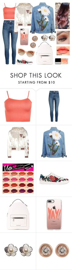 """Tempo sprecato... Yay!"" by nena69 ❤ liked on Polyvore featuring WearAll, Tommy Hilfiger, Gucci, Love Moschino, Chanel, Casetify, Ron Hami and Linda Farrow"