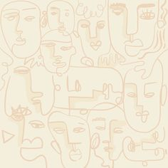 Abstract face line drawing background design resource vector | free image by rawpixel.com / Techi Lines Wallpaper, Wallpaper Pictures, Nature Wallpaper, Wallpaper Ideas, Iphone Wallpaper, Abstract Faces, Abstract Backgrounds, Face Line Drawing, Islamic Cartoon