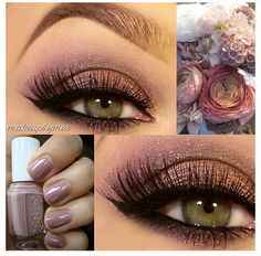 Beautiful eye makeup from Tarte cosmetics using their neutralEyes II palette!