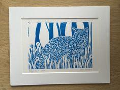 Reynard the Fox Limited Edition Lino Print £12.00
