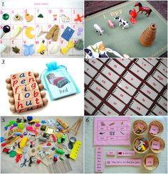 Early Montessori Language Materials on Etsy - how we montessori