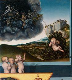 Lucas Cranach, melancholia  (detail)