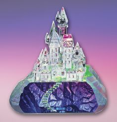 Voted Best Architectural Collectible of the Year by the readers of Collector Editions magazine. ENCHANTED CASTLE crystal collectible recalls a time from Europe's past of chivalry, bravery and tradition. www.CrystalWorld.com