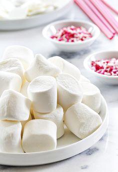 Valentine's Day Marshmallow Pops Ingredients