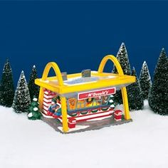 "Department 56: Products - ""McDonald's®"" - View Lighted Buildings"