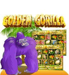 Golden Gorrila 50-Line Video Slot