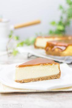 Sernik z solonym karmelem/Salted caramel cheesecake Salted Caramel Cheesecake, Sweets, Cooking, Ale, Food, Country, Gastronomia, Kitchen, Gummi Candy