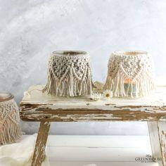Boho Diy, Boho Decor, Bohemian, Diy And Crafts, Arts And Crafts, How To Make Dough, Macrame Tutorial, Diy Candles, Diy Accessories