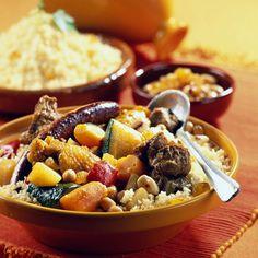 Découvrez la recette couscous royal sur Cuisine-actuelle.fr.