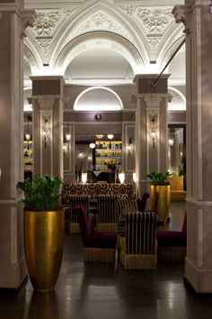 Selected by Master Meeting – Hotel Bernini Palace, Firenze – #Tuscany #design hotel, view off the hall