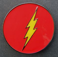 LIGHTNING THUNDER YELLOW FLASH BOLT BELT BUCKLE BUCKLES