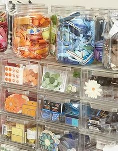 creating keepsakes has a new book out right now, called the organized & inspired scrapbooker. and organizing scrapbooking supplies is one of my favorite things. Scrapbook Room Organization, Scrapbook Storage, Studio Organization, Scrapbook Rooms, Scrapbook Supplies, Organization Ideas, Baking Organization, Sticker Organization, Craft Room Storage