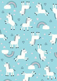 Girl Unicorn Print