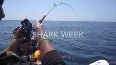 Kayak Fishing - Shark Week Tribute