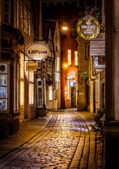 Winter in the Medieval City by Paolo Diaz Williams  #bremen#germany