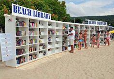 Isn't this the PERFECT idea for #booklovers?  Albena Resort, Bulgaria