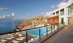 Which Hotel in Greece Made Number One on Our List? Premium Hotel, Greece Hotels, Greece Travel, Number One, Traveling By Yourself, Beach, Water, Outdoor, Awards