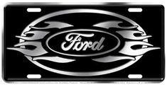 Ford logo flames