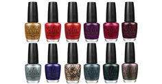 OPI's James Bond collection is one of our faves for winter