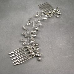Check out this item in my Etsy shop https://www.etsy.com/listing/466164512/wedding-hair-accessories-wedding