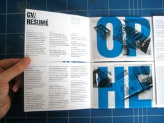 CV Poster/Mailer by Effektive®, via Flickr