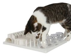 "Trixie Cat Activity Center - 5 interactive ""games"" to stimulate your feline's of curiosity"