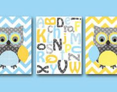 blue yellow grey room - Google Search